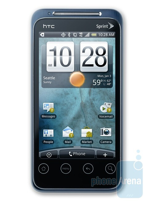 HTC EVO Shift 4G - Best phones of CES 2011: Editor's Pick
