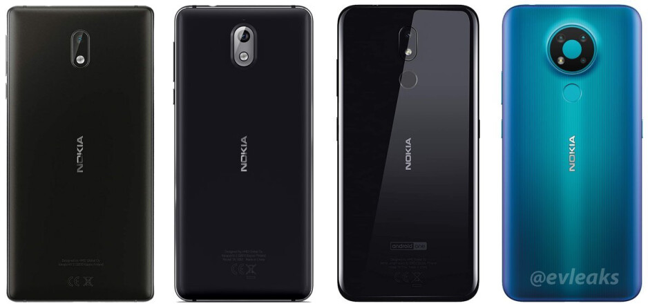 Nokia 3 vs Nokia 3.1 vs Nokia 3.2 vs Nokia 3.4 - Newest Nokia 3.4 leak reveals key specs, pricing, and colors