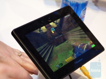 RIM BlackBerry PlayBook Hands-on