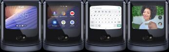 La pantalla Quick View externa del Razr 5G ofrece funcionalidad adicional - El nuevo Motorola Razr 5G es oficial: diseño actualizado y mejor batería por $ 1399