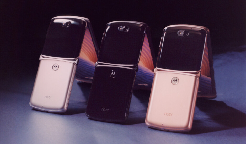 The new Motorola razr in all three colors - Motorola razr 5G 2020 vs razr 2019: all the major differences