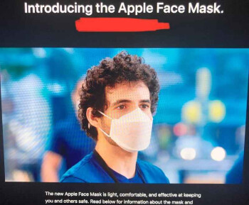 The iPhone & iPad design teams have developed face masks for Apple employees