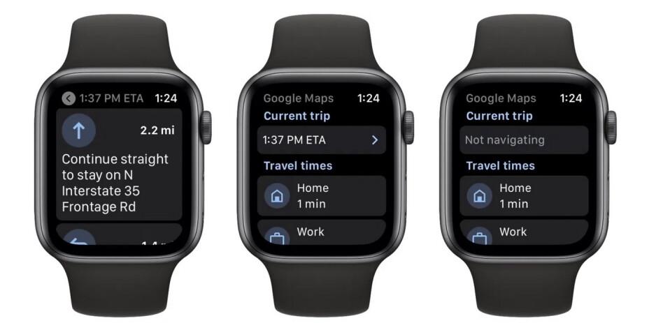 Google Maps returns to the Apple Watch - Google Maps returns to the Apple Watch