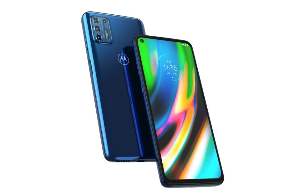 Mid-range Moto G9 Plus goes official with huge screen, huge battery, and a lot of cameras