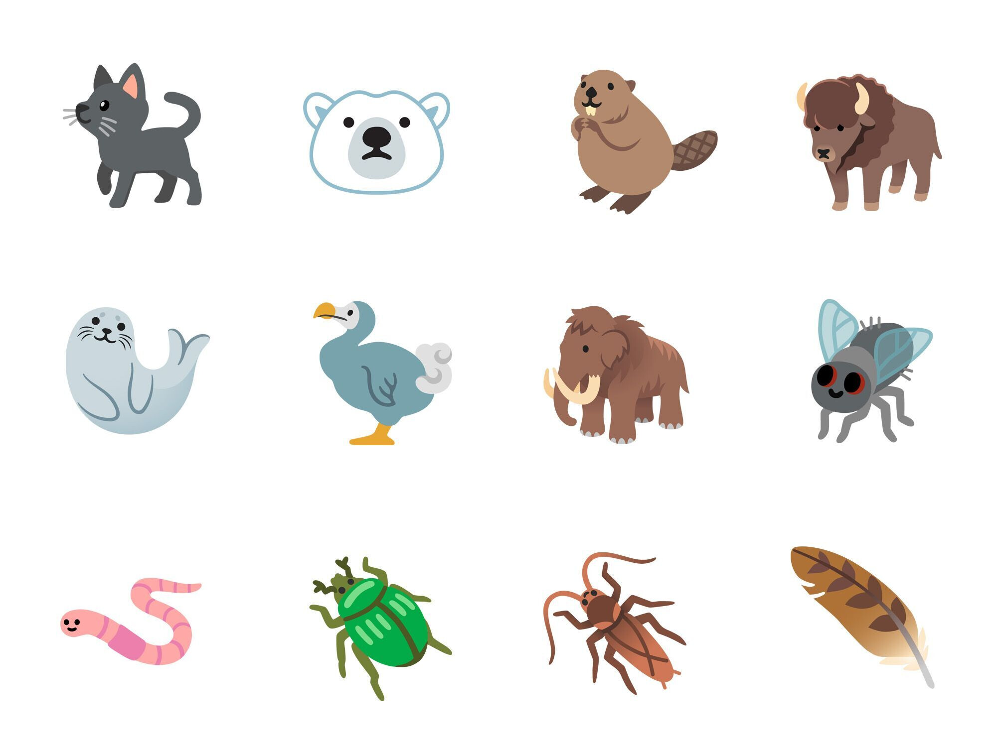 New animal emoji in Android 11 - These are all the new Android 11 emoji coming to your phone