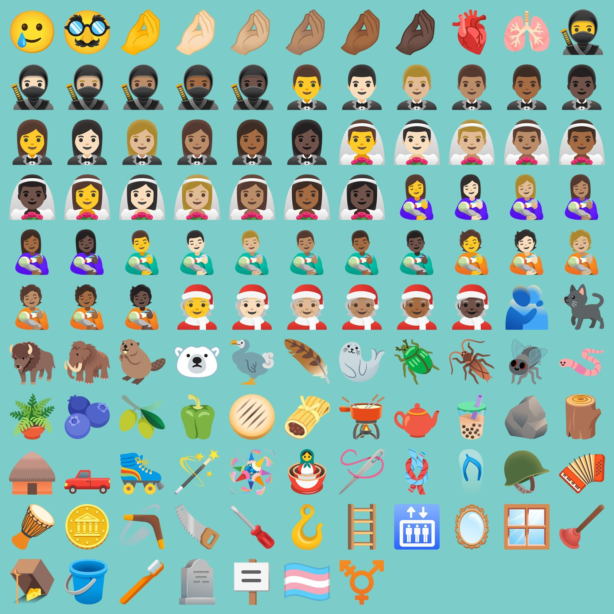 All new Android 11 emoji - These are all the new Android 11 emoji coming to your phone