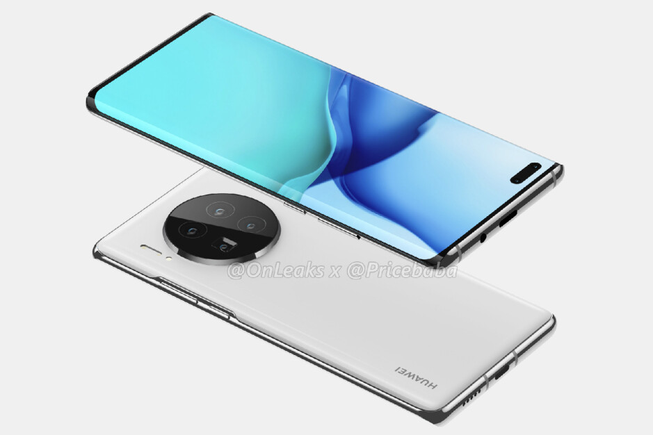 The Huawei Mate 40 Pro - The 5G Huawei Mate 40 series might be delayed until 2021
