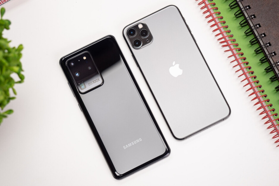Galaxy S20 Ultra vs iPhone 11 Pro Max - Samsung is going after Huawei and not Apple with the Galaxy S21 Ultra 5G camera system