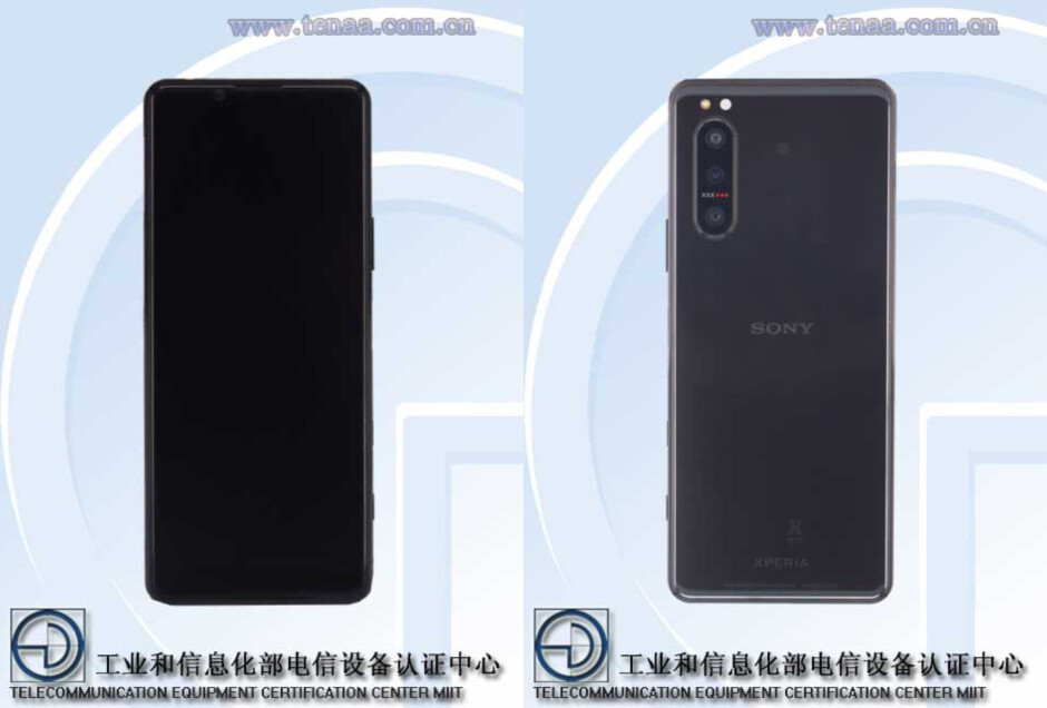 Sony's Xperia 5 II passes TENAA certification, confirming sleek design and 5G support