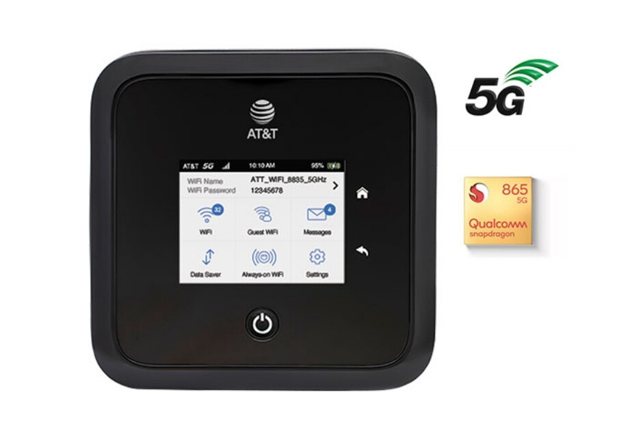 AT&T's extravagant new mobile hotspot comes with support for both 5G and 5G+
