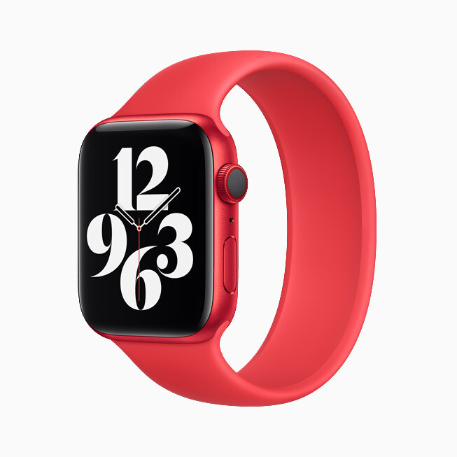 Solo Loop band option - Advanced Apple Watch Series 6 and affordable Apple Watch SE are official