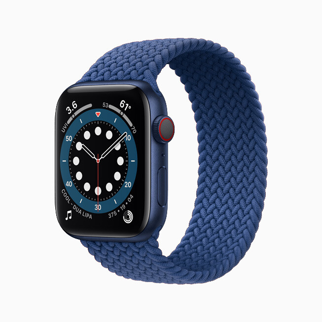 The Braided Solo Loop - Advanced Apple Watch Series 6 and affordable Apple Watch SE are official