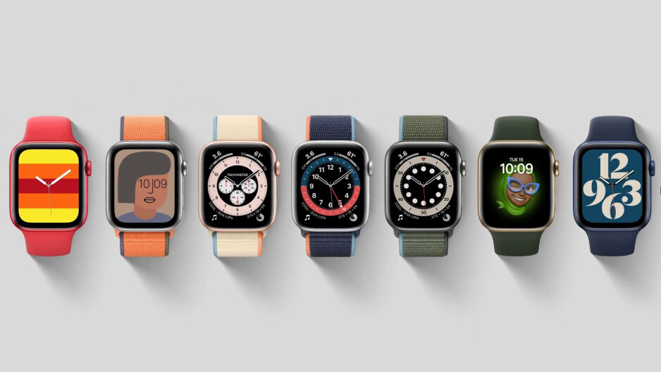Apple Watch faces come in a wide variety of styles - Apple Watch Series 6 vs Samsung Galaxy Watch 3: clash of the flagship smartwatches
