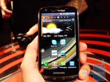 Samsung 4G LTE smartphone