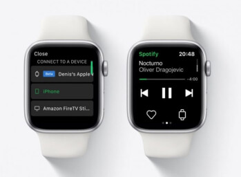 Spotify is testing direct streaming of content through the Apple Watch - Spotify tests a different way to deliver music to Apple Watch users