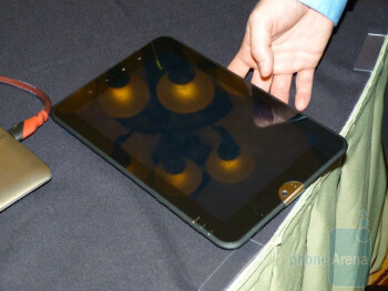 "Toshiba 10"" Android Tablet Hands-on"