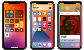 In iOS 14.2 public beta, you can have Shazam placed in the Control Center. image credit MacRumors - Shazam! Apple releases public beta for iOS 14.2