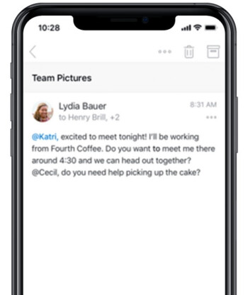 Suggested Replies can help you arrange a get-together at a time that works out best for you - These changes being added to Microsoft's Outlook greatly improve the app