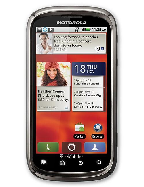 Motorola CLIQ 2 - Best phones of CES 2011: Editor's Pick