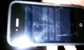 Alleged photo of the Verizon iPhone 4