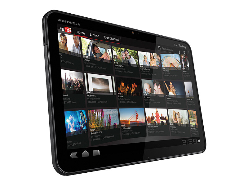 Motorola XOOM - Best tablets of CES 2011: Editor's Pick