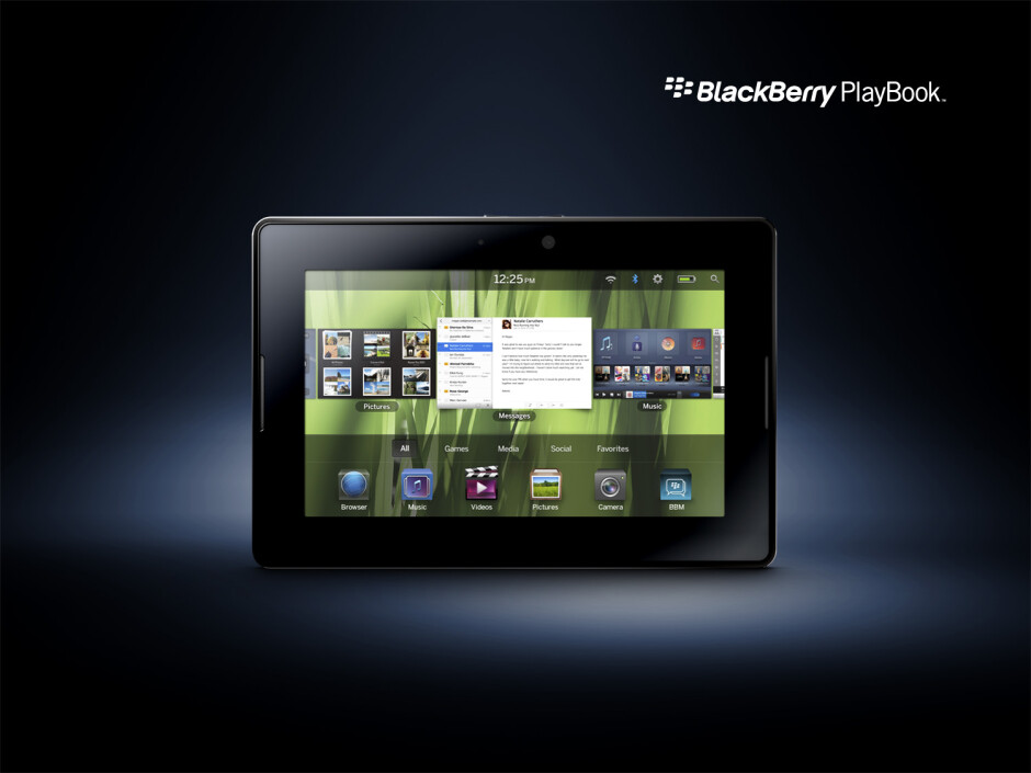 BlackBerry PlayBook - Best tablets of CES 2011: Editor's Pick