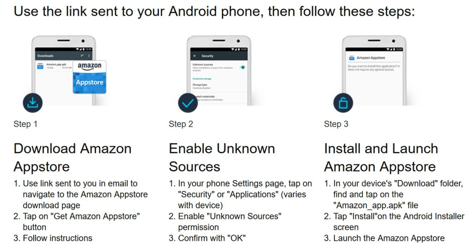 How to install the third party Amazon appstore on your Android phone - Google reveals one change coming to Android 12