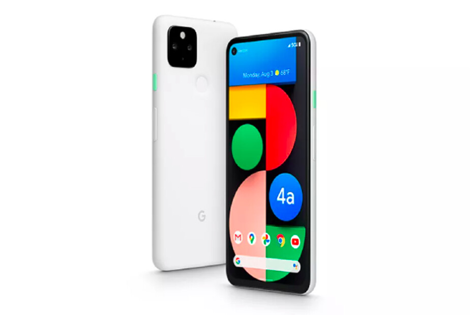 Pixel 4a 5G in Clearly White - The Pixel 4a 5G is now official: Google's best value-for-money phone