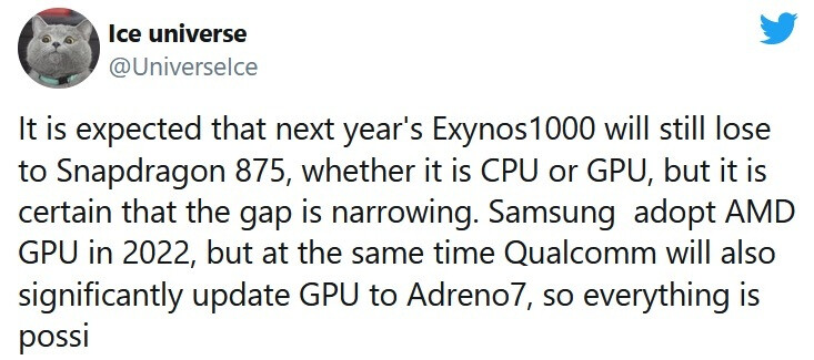 Tipster says Samsung is closing the performance gap with Qualcomm - Tipster says that Samsung will soon introduce the chips that will power the Galaxy S21 line