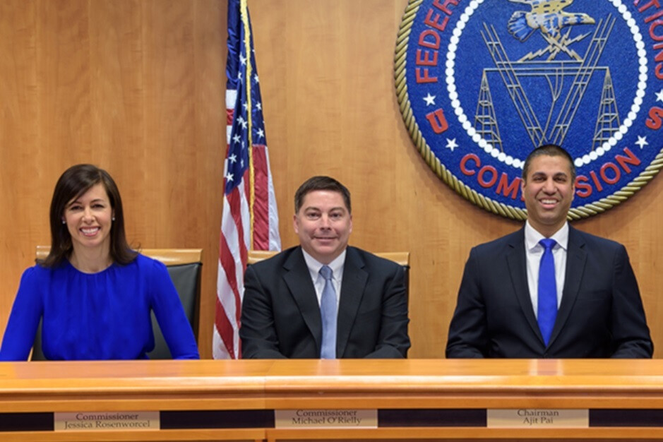 FCC Chairman Pai, at right, says that wireless users have benefited from the repeal of net neutrality - FCC Chairman Pai says that getting rid of net neutrality was a boon to U.S. wireless subscribers