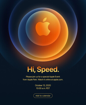 Apple iPhone 12 October event invite - When and how to watch the 2020 Apple iPhone 12 5G October event live stream