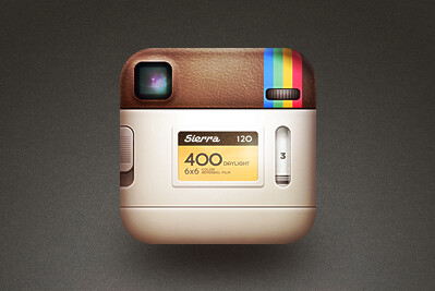 The rear of Instagram's classic logo has been revealed for the first time