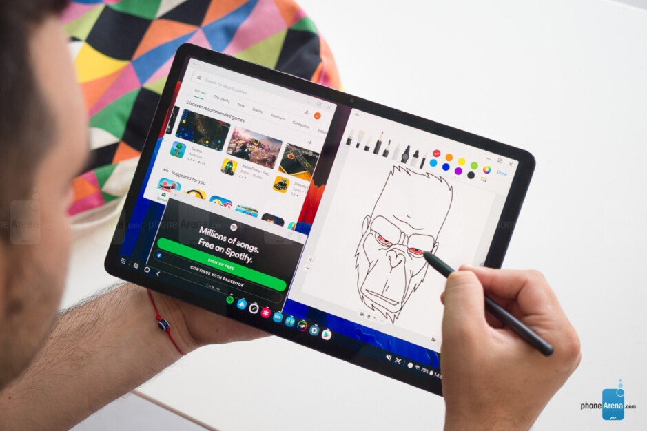 Galaxy Tab S7+ - T-Mobile has Samsung's 5G-enabled Galaxy Tab S7 and Tab S7+ on sale at a decent discount
