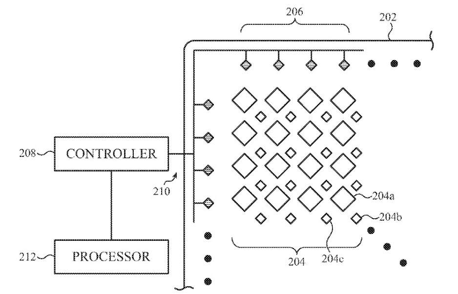 Apple seeks a patent on technology that places iPhone sensors under the display - Patent application suggests that the notch won't disappear until iPhone 14 at the earliest