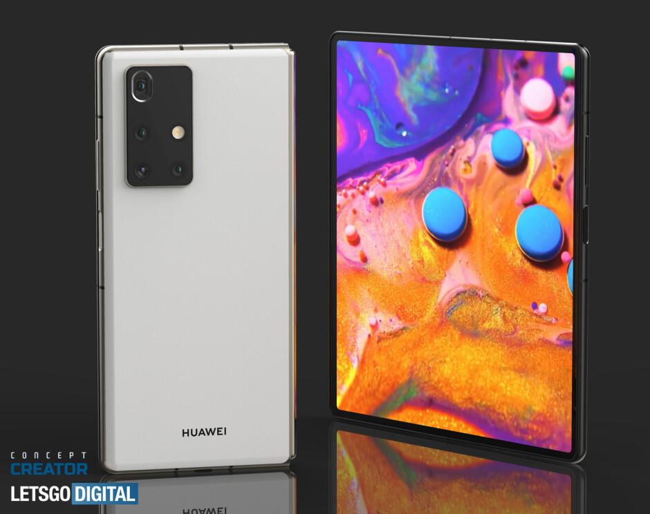 See how the Huawei Mate X2 5G folding phone may look like