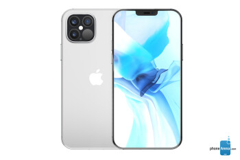 Early iPhone 12 Pro and iPhone 12 concepts - Leaked iPhone 12 icons show off smaller notch ahead of tomorrow's event