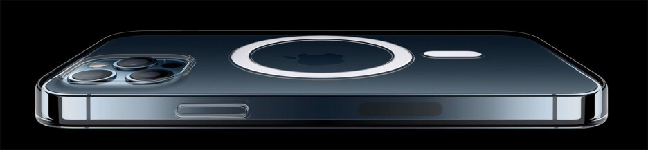 With MagSafe, new iPhones have magnets inside them so they snap onto wireless chargers for a precise fit - Apple officially unveils iPhone 12 Pro and Pro Max