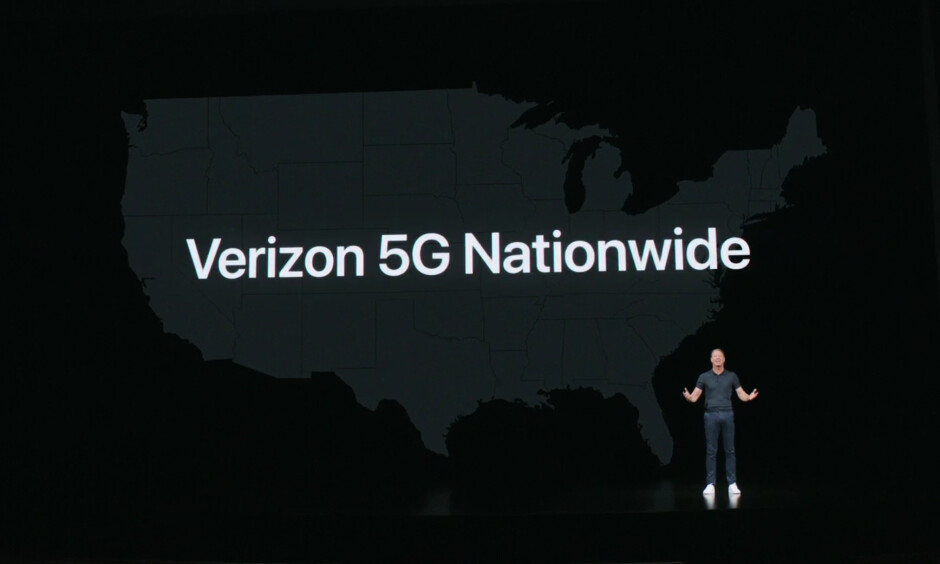 Verizon announced its new nationwide 5G network at the Apple iPhone 12 launch event - 5G on the iPhone 12: how the next-gen network will shape the mobile experience