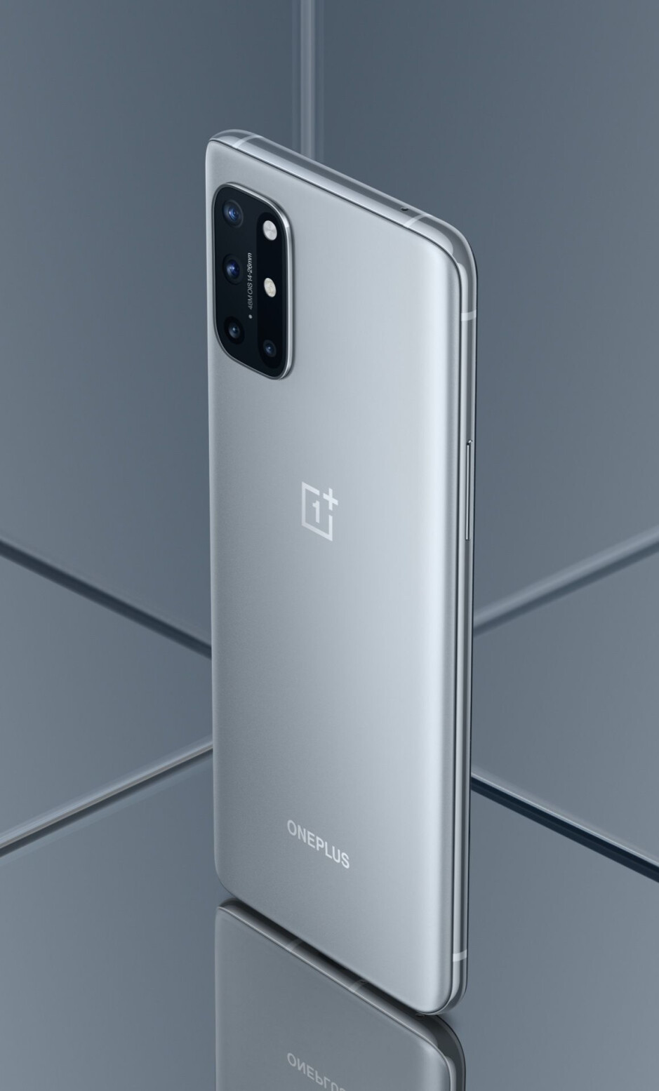Lunar Silver - The OnePlus 8T arrives with two batteries, a 120Hz flat display, and 65W fast charging