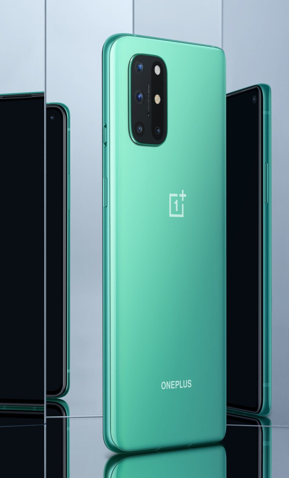 Aquamarine Green - The OnePlus 8T arrives with two batteries, a 120Hz flat display, and 65W fast charging