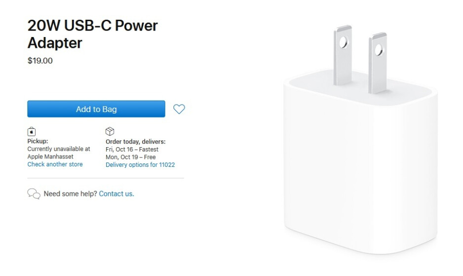 Apple's new 20W charger is 34% cheaper than the 18W brick it replaces - Apple slashes the price of the two accessories it has removed from the iPhone box