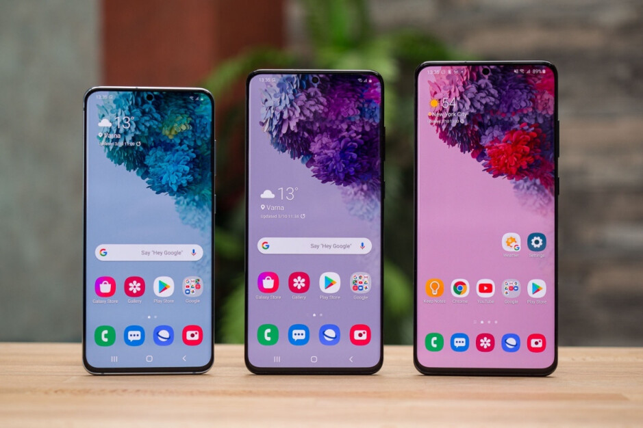 Galaxy S20, S20+, S20 Ultra (left to right) - Wild new report suggests Samsung's Galaxy S21 5G family could be released this year