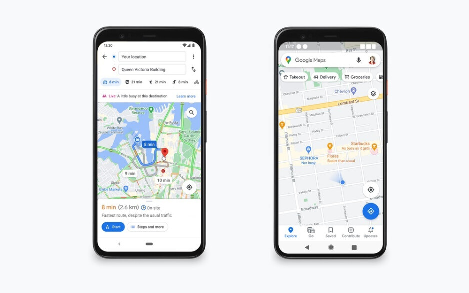 Google Maps will show you how crowded places are, including destinations - Google Maps will show you if a place has room for social distancing and if it's crowded