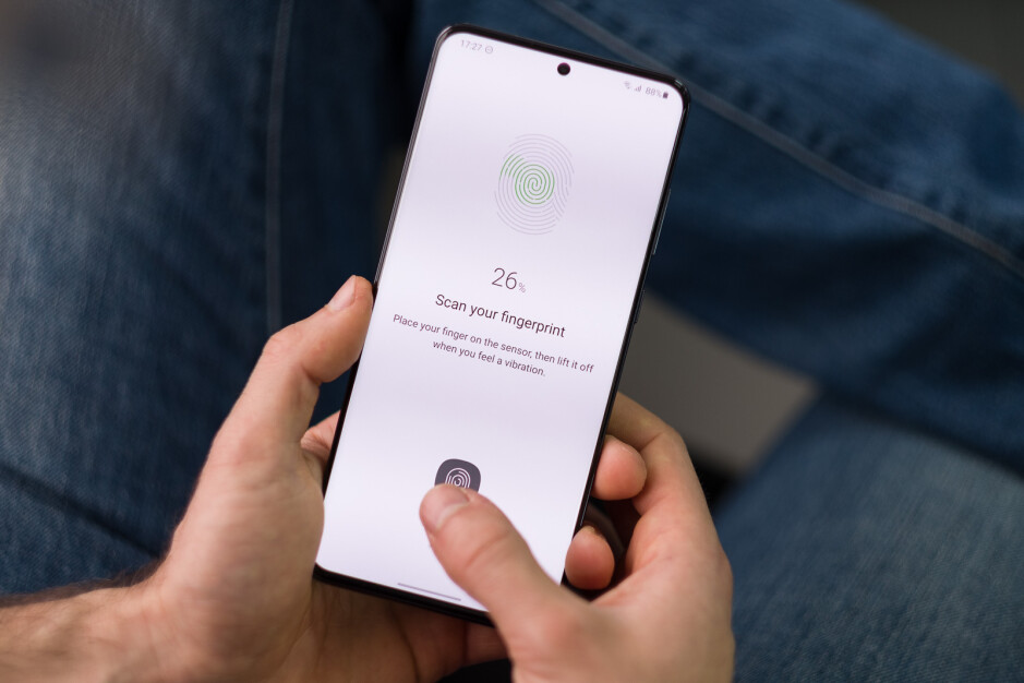The Samsung Galaxy S20 Ultra already has an under-screen fingerprint scanner - Under-screen Touch ID for iPhone now seems even more likely