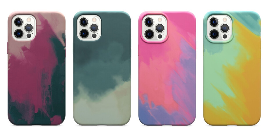 The four colors of the OtterBox Figura Series - Best iPhone 12 MagSafe accessories