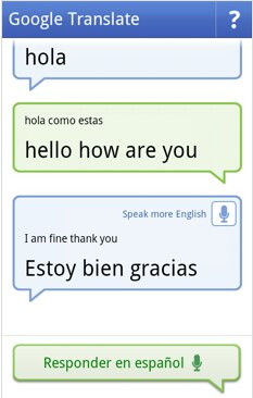 Conversation mode added to Google Translate