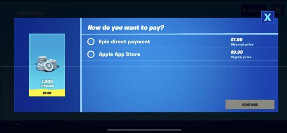 Apple claims that Epic was trying to use the advantages of the App Store while offering consumers its own payment platform - Epic and Apple are both making the same argument about the other side in new court filing