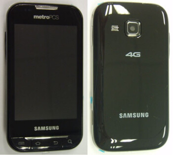 Additional shots of the Samsung Forte show off its glossy exterior