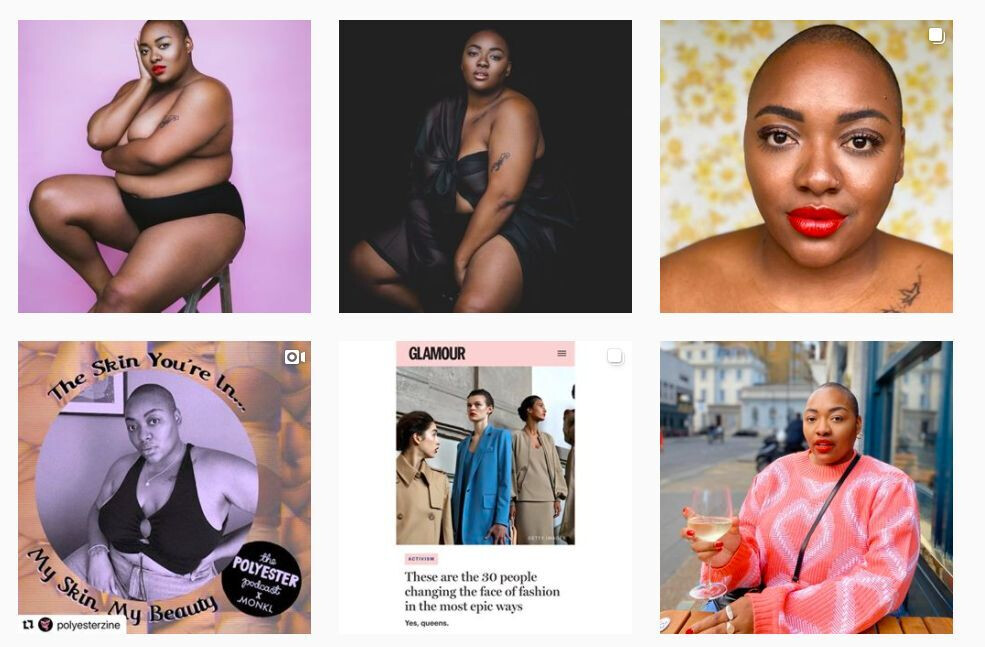 """Nyome's Instagram account - Instagram will change its """"breast squeezing"""" policy after plus-size model backlash"""