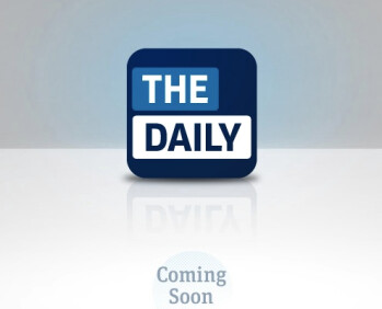 The debut of the Apple iPad's daily newspaper has been delayed for a few weeks